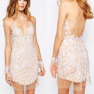 For Love & Lemons White Luau Dress - Small
